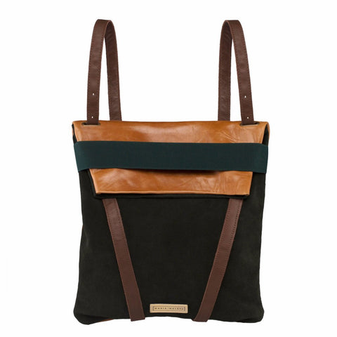 Backpack Suede by Maria Maleta on OOSTOR.com