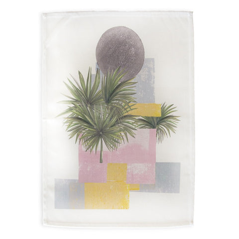 Abstract Palm Tea Towel by Rosehip & Wild on OOSTOR.com