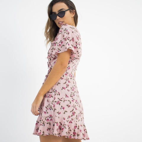 Rosebud Wrap Dress by Wired Angel Ltd on OOSTOR.com
