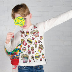 Fast Food Colour In Top by Selfie Clothing Co on OOSTOR.com