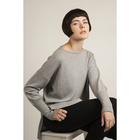 Grey Eloise Merino Sweater by Flock By Nature on OOSTOR.com