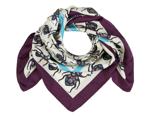 The Glitter Weevil Scarf by Farnworth & Cole on OOSTOR.com