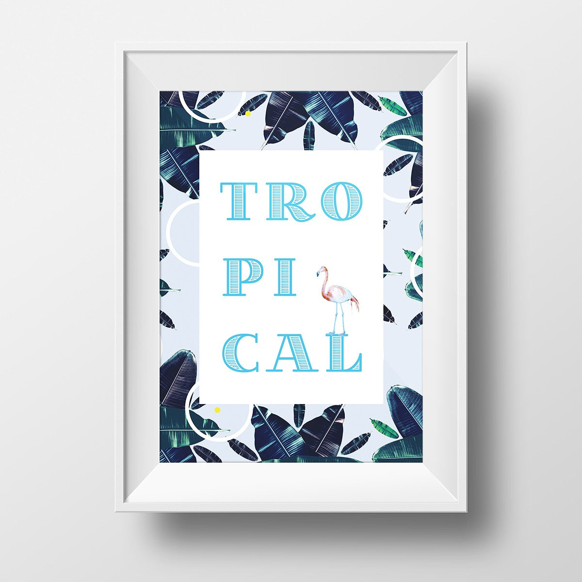 Tropical Excitement Print by Action Zebra on OOSTOR.com