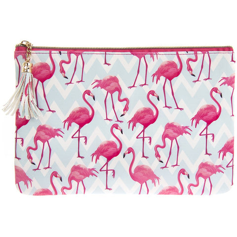 Flamingo Bay Clutch by Sole Favors on OOSTOR.com