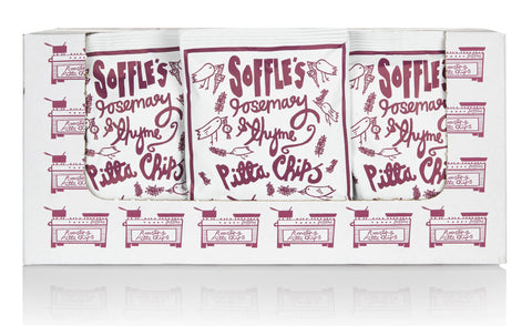 Soffle's Pitta Chips - Rosemary and Thyme 15x60g by Soffles on OOSTOR.com