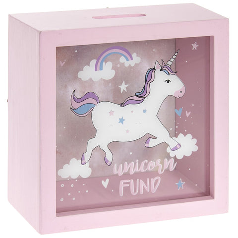 Unicorn Fund Money Box by Sole Favors on OOSTOR.com