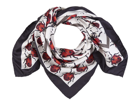 The Adonis Ladybird Scarf by Farnworth & Cole on OOSTOR.com