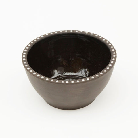 Small Bowl With White Dots by Studio Beate Snuka on OOSTOR.com