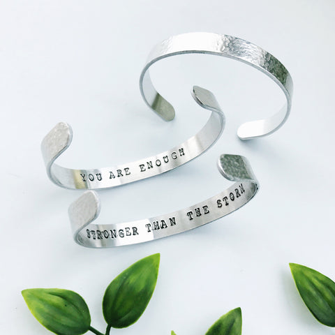 Affirmation Mindfulness Bracelet by Eclectic Eccentricity on OOSTOR.com
