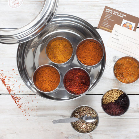 African & Middle Eastern Spice Tin with 9 Spices - Spice Kitchen UK - Spices, Spice Blends, Gifts & Cookware - 2