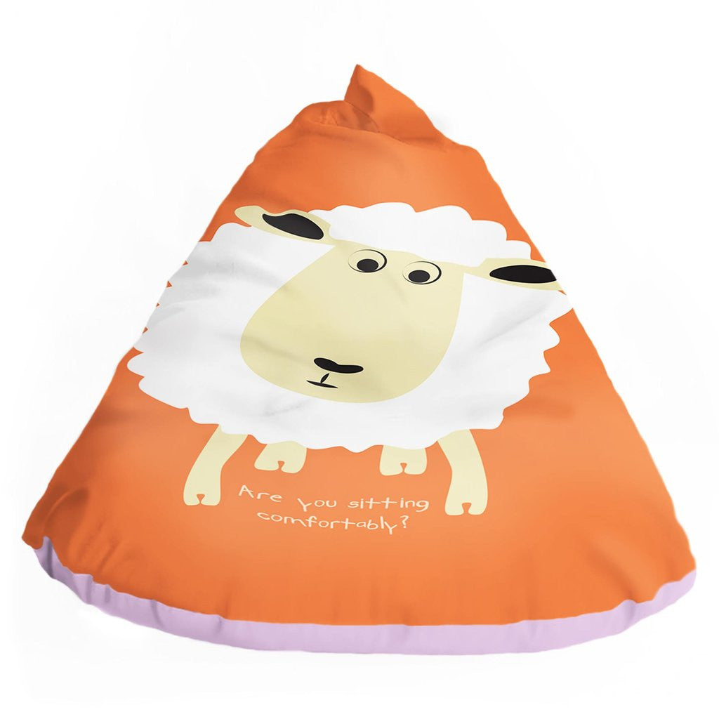 SLEEPY HEAD BEAN BAG WITH RHYME