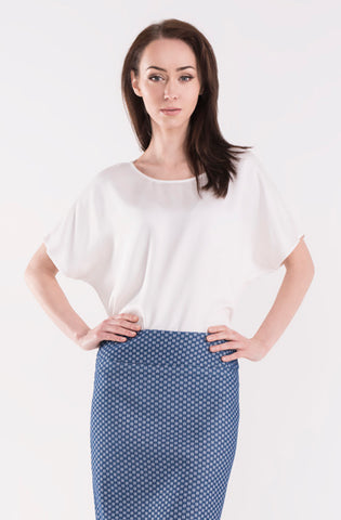 White Must Have Blouse by Bubala