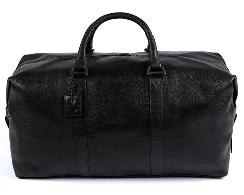 Archie's Duffle - Classic Black - With Side Pocket
