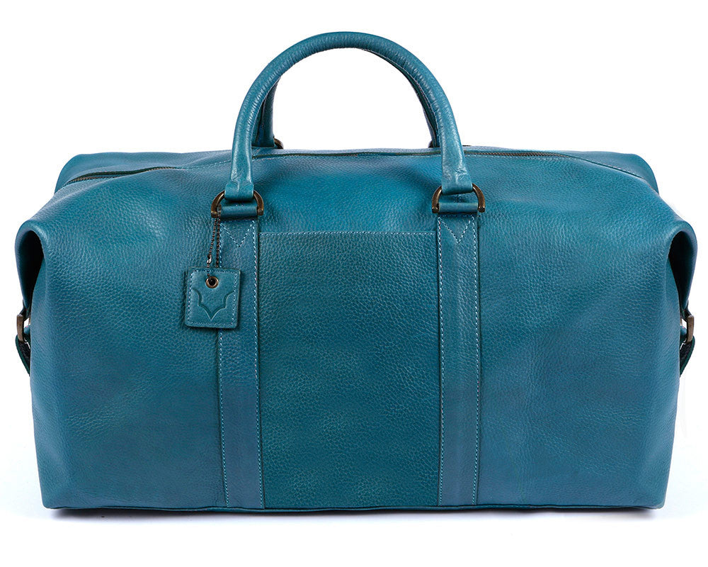Archie's Duffle - Signature Blue - With Side Pocket