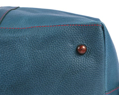 Archie's Duffle - Signature Blue w/ Red Stitching w/ Side Pocket