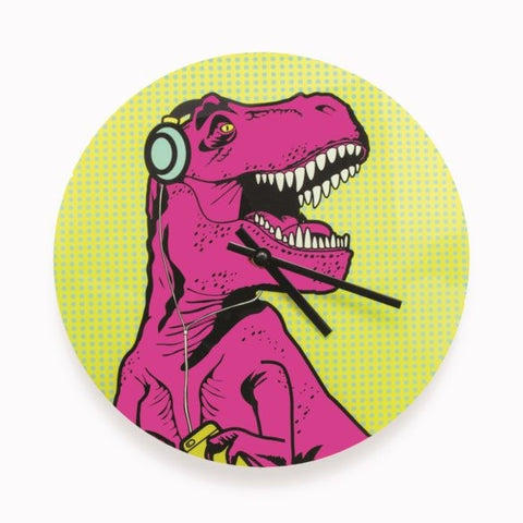 T-Rex Clock by Mustard Gifts on OOSTOR.com