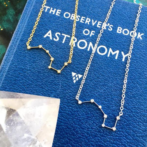 Callisto: Ursa Major Constellation Necklace by Eclectic Eccentricity on OOSTOR.com