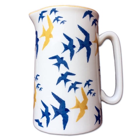 Flock Design Fine Bone China Jug