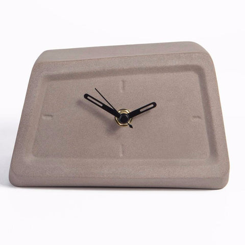 Concrete Table Clock by Yahalomis on OOSTOR.com