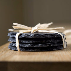 Round Slate Coasters by Slated on OOSTOR.com