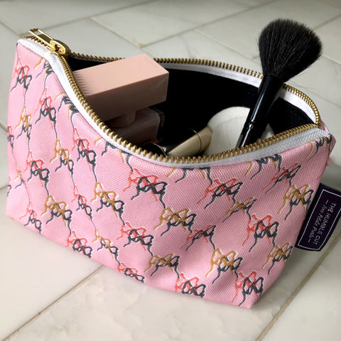 Midnight Poppy Cosmetic Bag