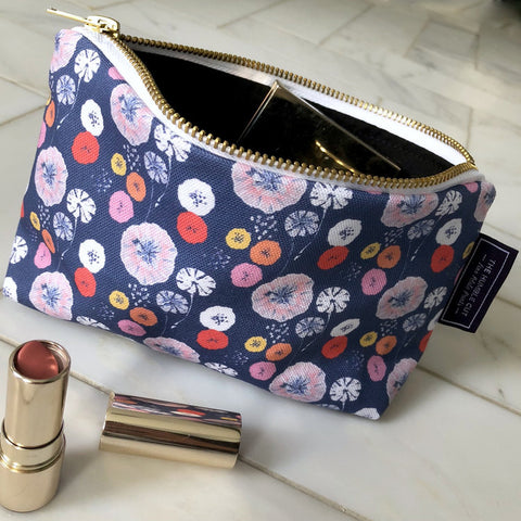 Ballet Blush Cosmetic Bag