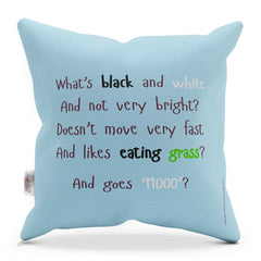 COW CUSHION WITH RHYME