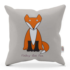 FOX CUSHION WITH RHYME