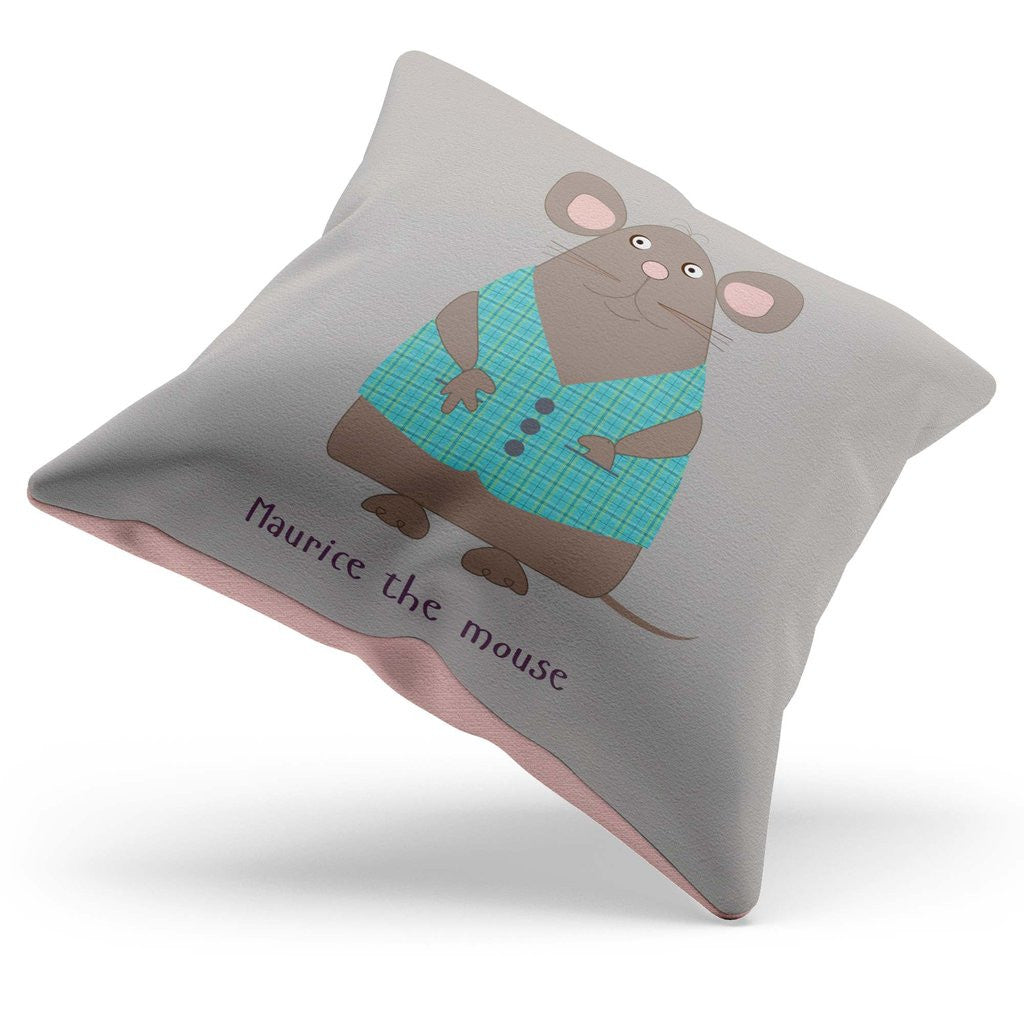 MAURICE THE MOUSE CUSHION WITH RHYME