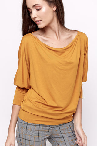Mustard Blouse by Bubala