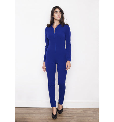 Deyla V Neck Jumpsuit by TwentyFour Fashion on OOSTOR.com