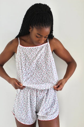 Ditsy Cotton Pyjamas