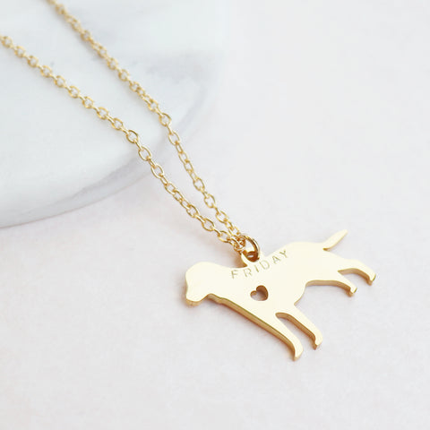 You Had Me At Woof Dog Necklace by Eclectic Eccentricity on OOSTOR.com