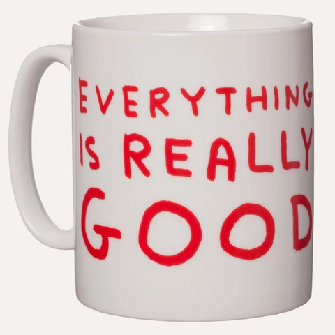 David Shrigley Really Good Mug White