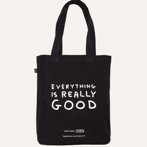 David Shrigley Really Good Bag Black