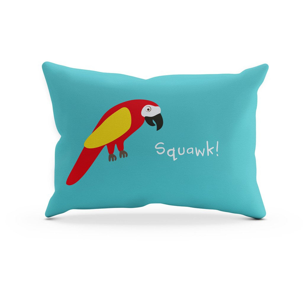 EVERYTHING A BOY NEEDS TO BE A PIRATE – PARROT PILLOWCASE
