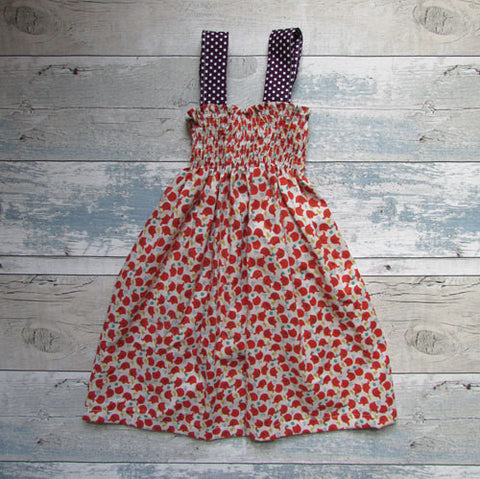 Girls Summer Elephant Dress