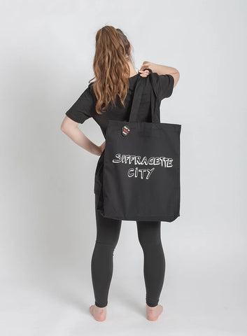 Black Bella Freud Suffragette City Tote Bag