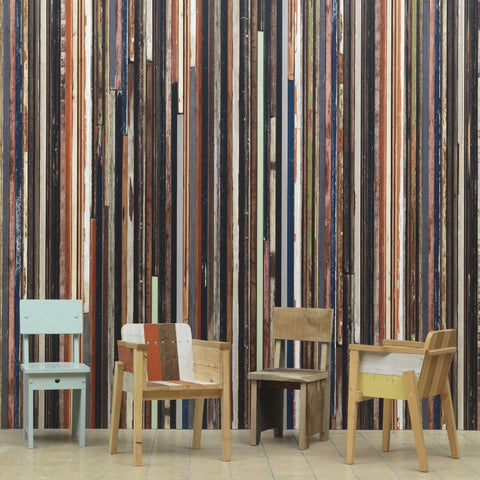 Scrapwood Wallpaper by Pad Home on OOSTOR.com