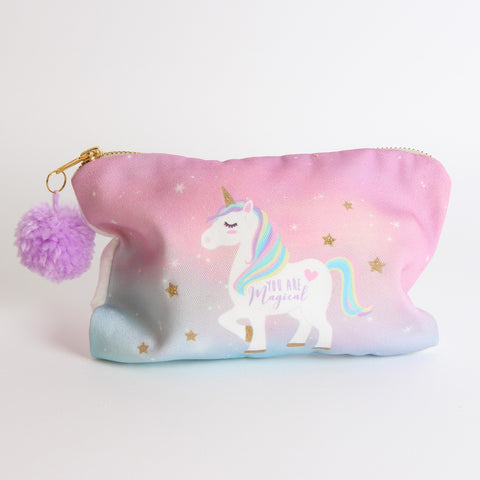 Magical Unicorn Cosmetic Bag by Sole Favors on OOSTOR.com