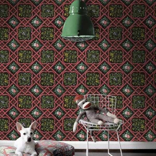 Lattice Work Wallpaper by Pad Home on OOSTOR.com
