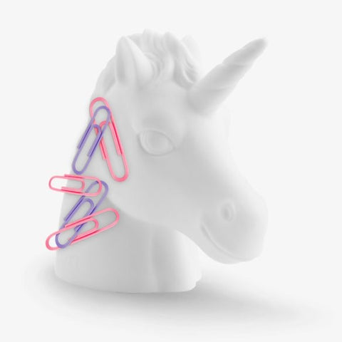 Unicorn Paperclip Holder by Mustard Gifts on OOSTOR.com