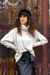 Women's White Golf Anabel Sweater by Angell