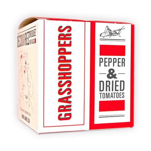 GRASSHOPPERS - DRIED TOMATO & PEPPER