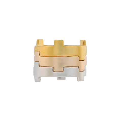 Legoo Ring Gold by Afew Jewels on OOSTOR.com