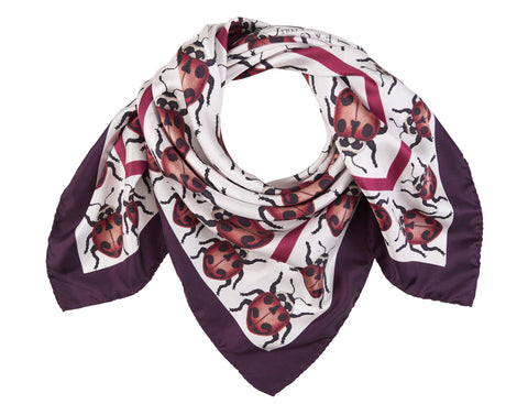 The Parenthesis Ladybird Scarf by Farnworth & Cole on OOSTOR.com