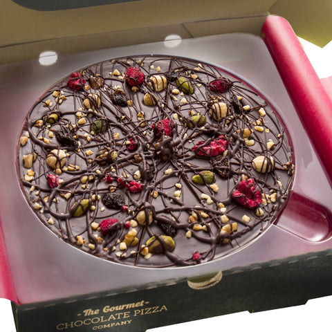 "Decadent Dark 7"" Gourmet Chocolate Pizza by The Gourmet Chocolate Pizza Company Ltd on OOSTOR.com"