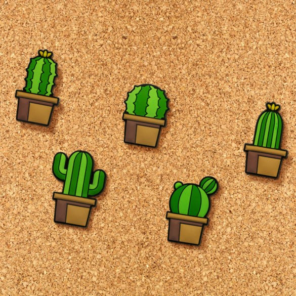 Cactus Push Pins by Mustard Gifts on OOSTOR.com