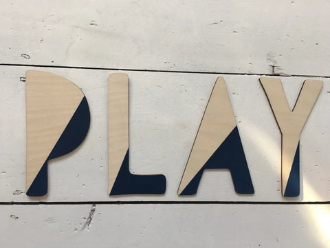 Play Wooden Sign by Rosocoe Rules