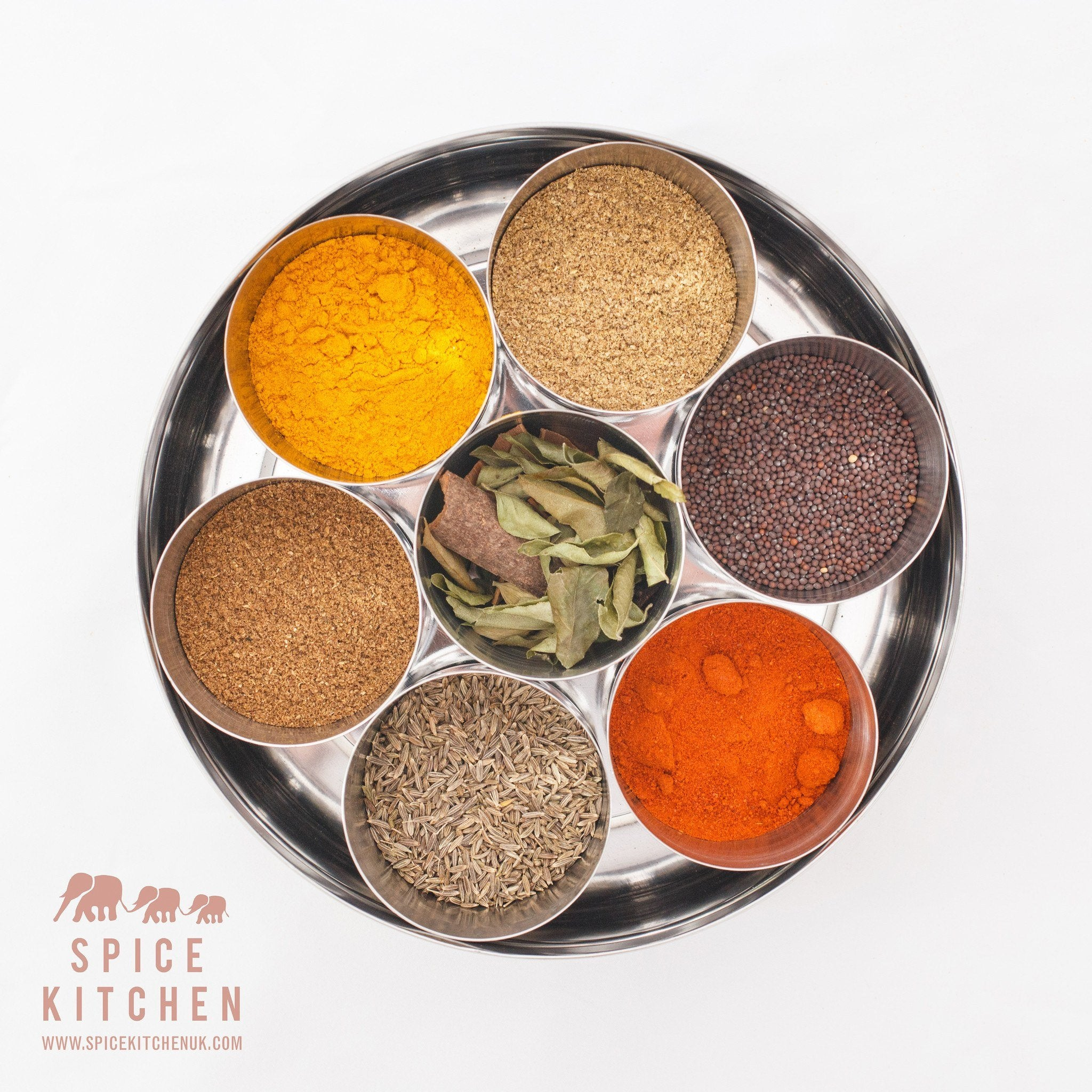 Indian Spice Tin With 10 Spices - Spice Kitchen - Spices, Spice Blends, Gifts & Cookware